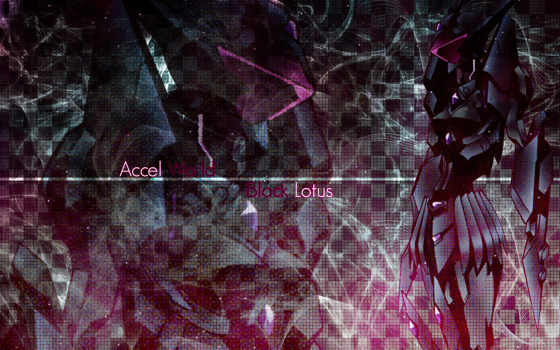 Download hd 1920x1200 Kuroyukihime (Accel World) PC wallpaper ID:247950 for free