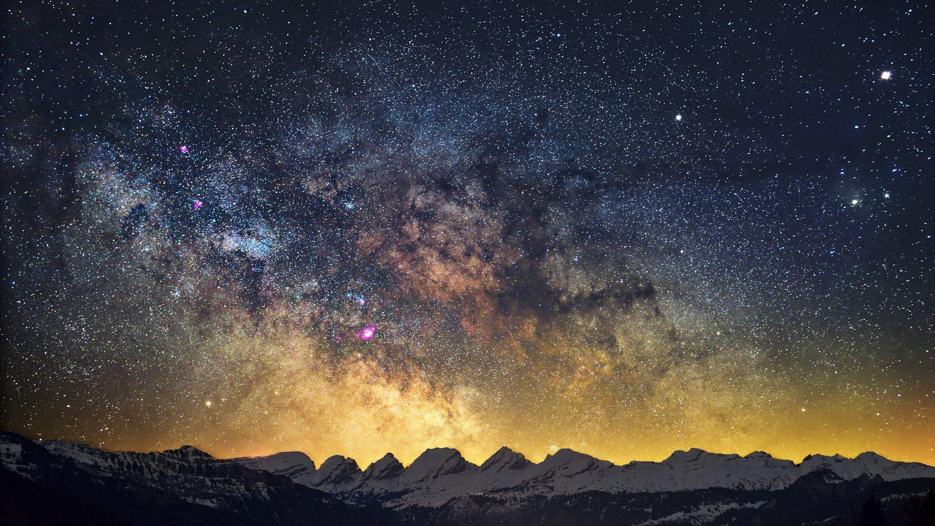 Milky Way Wallpapers HD For Desktop Backgrounds
