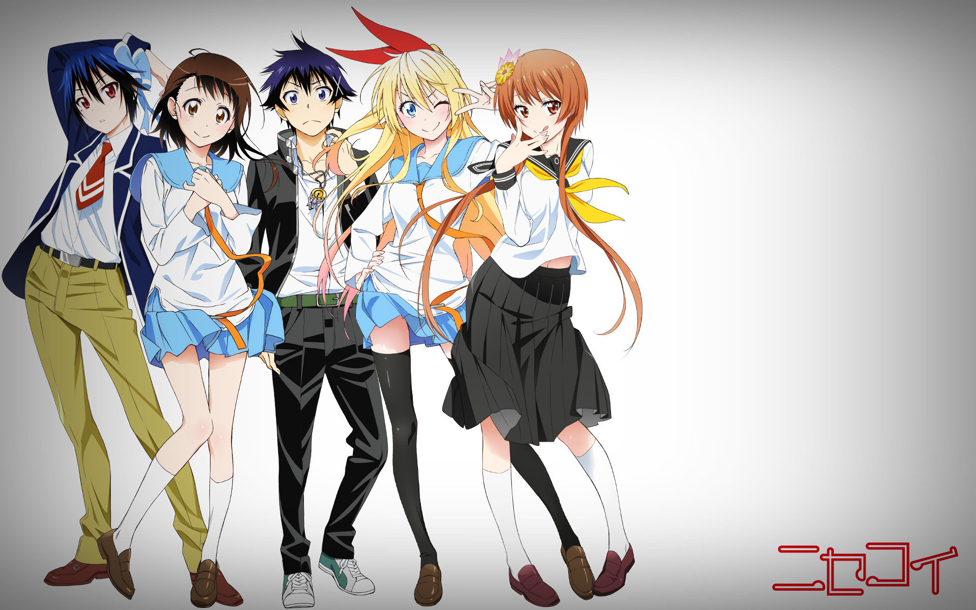 Download hd 1920x1200 Nisekoi desktop background ID:323345 for free