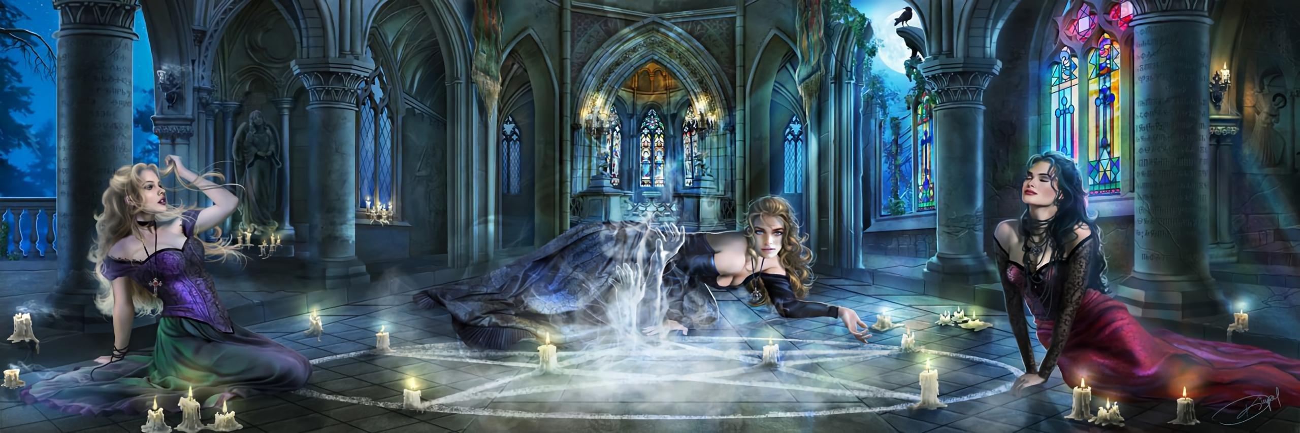 Fantasy Dual Monitor Wallpaper: Best Fantasy Girl Wallpaper ID:336731 For High Resolution