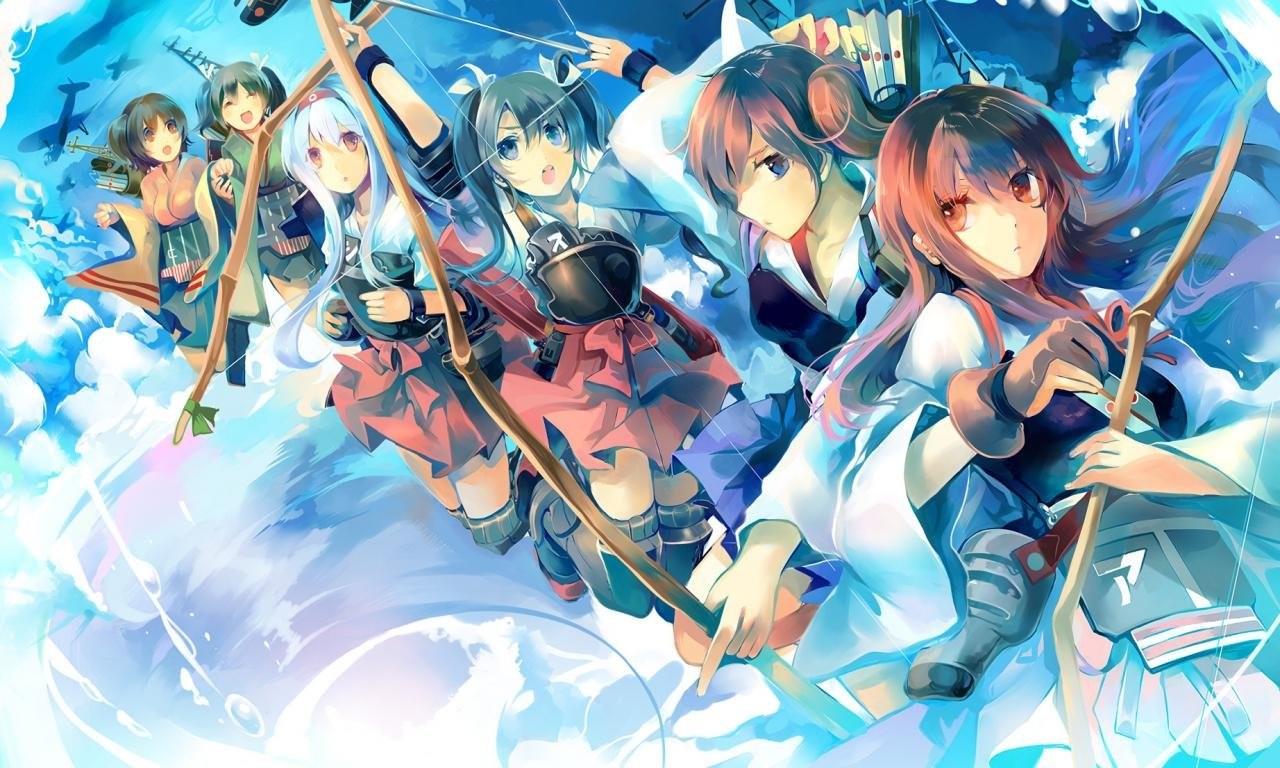 High resolution Kantai Collection hd 1280x768 background ID:331184 for desktop