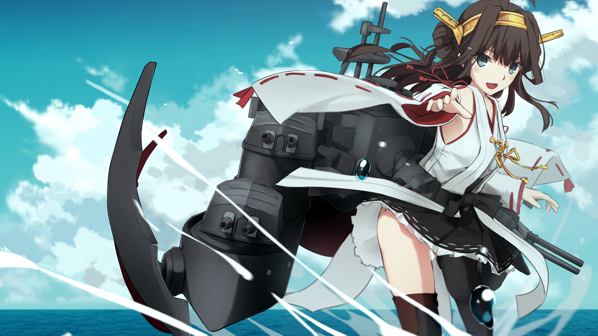 High resolution Kongou (Kancolle) full hd 1080p wallpaper ID:331687 for PC