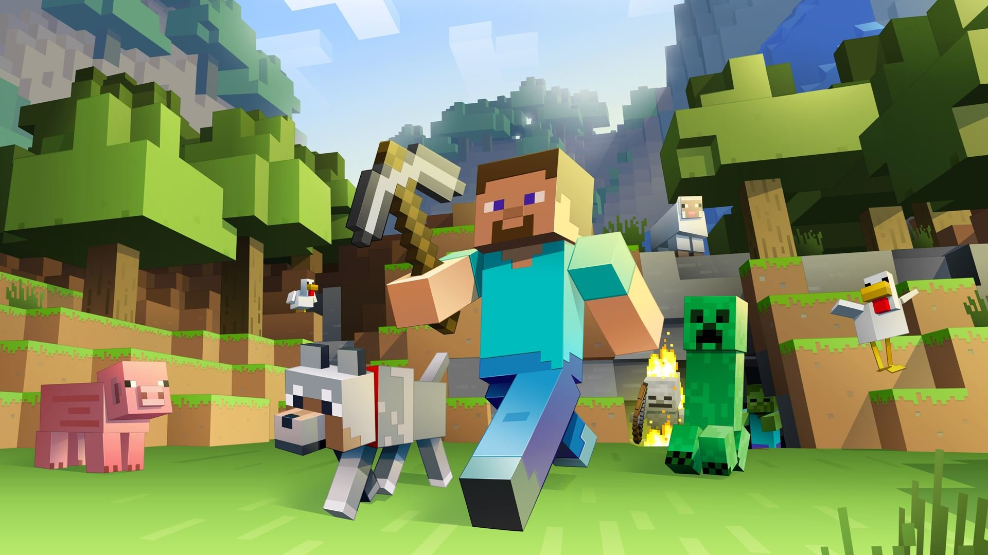 Free Minecraft High Quality Background Id385548 For Full Hd 1080p Pc