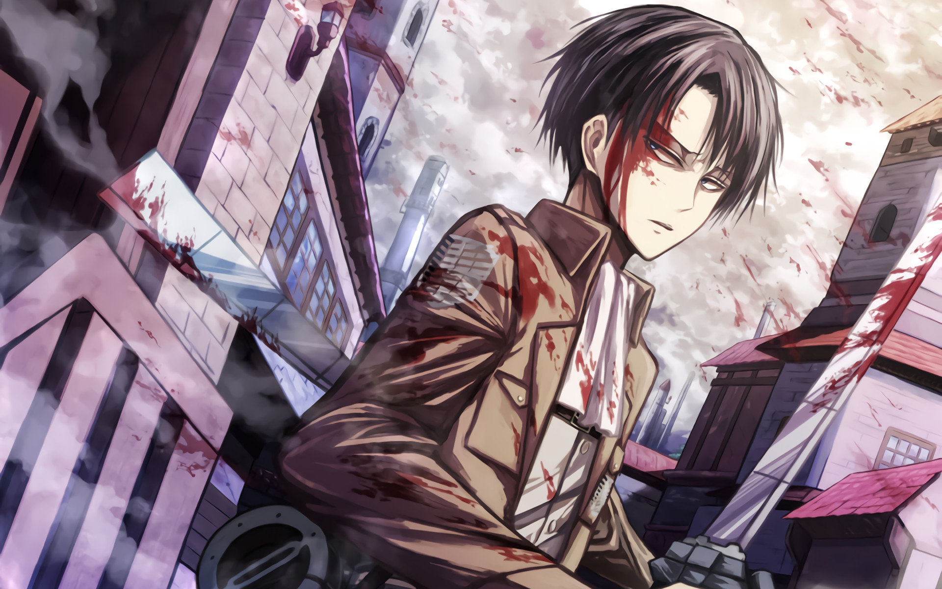 High resolution Levi Ackerman hd 1920x1200 wallpaper ID:206563 for computer
