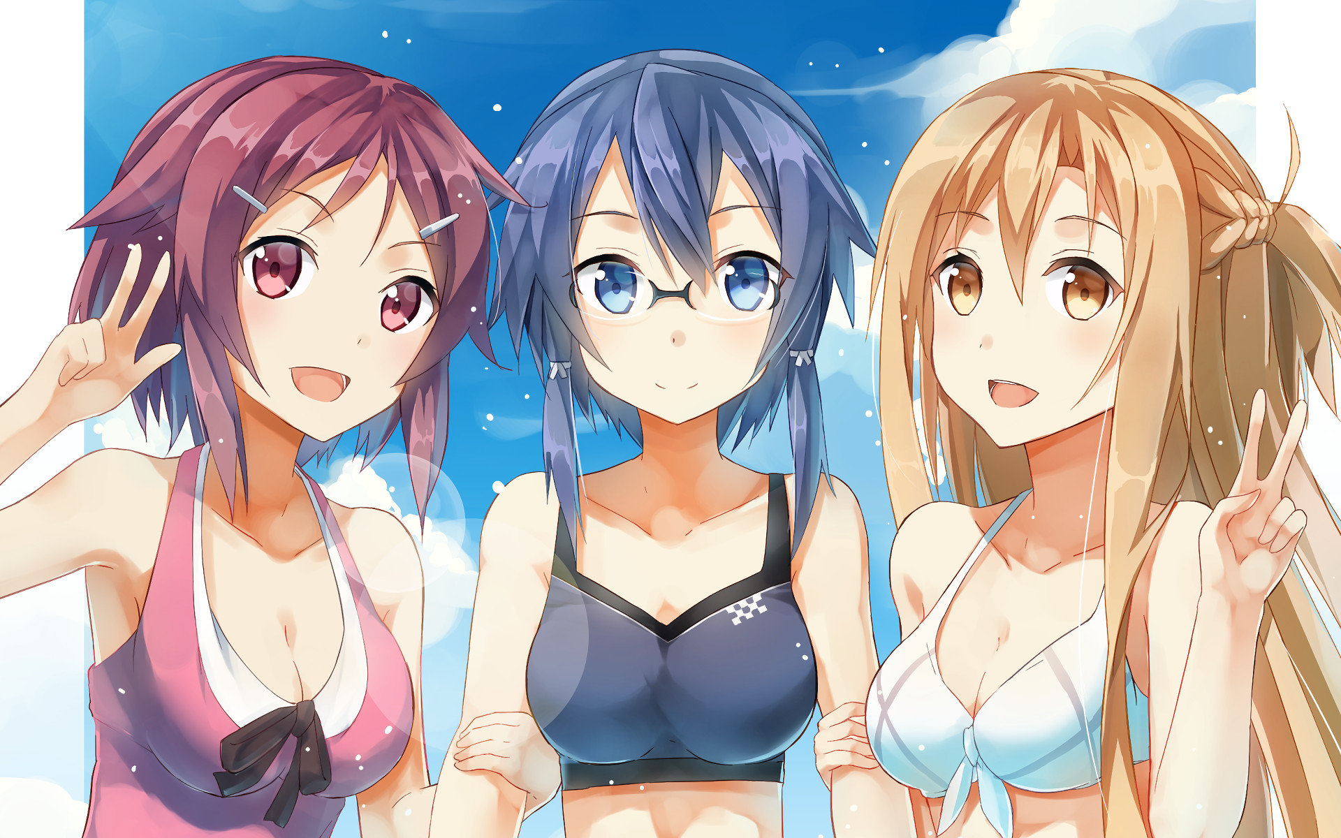 Free download Sword Art Online 2 (II) background ID:112451 hd 1920x1200 for desktop