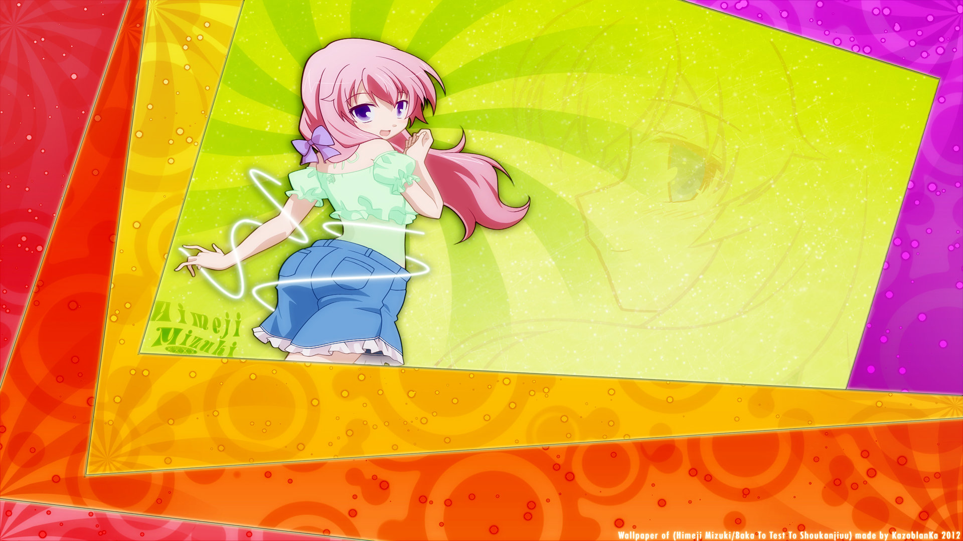 Download full hd 1080p Baka And Test desktop wallpaper ID:183613 for free