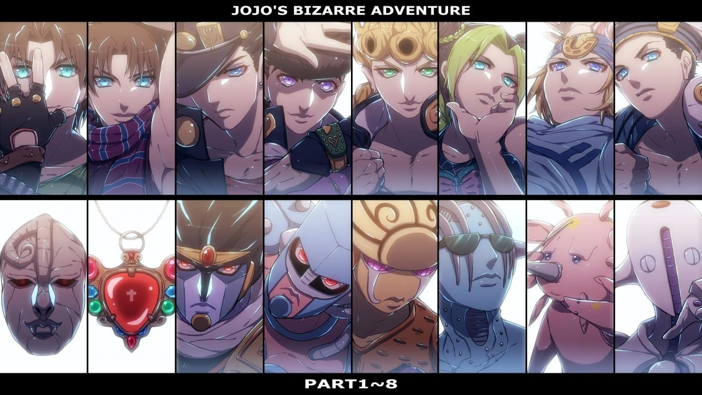 Awesome Jojo's Bizarre Adventure free background ID:296913 for 1366x768 laptop desktop