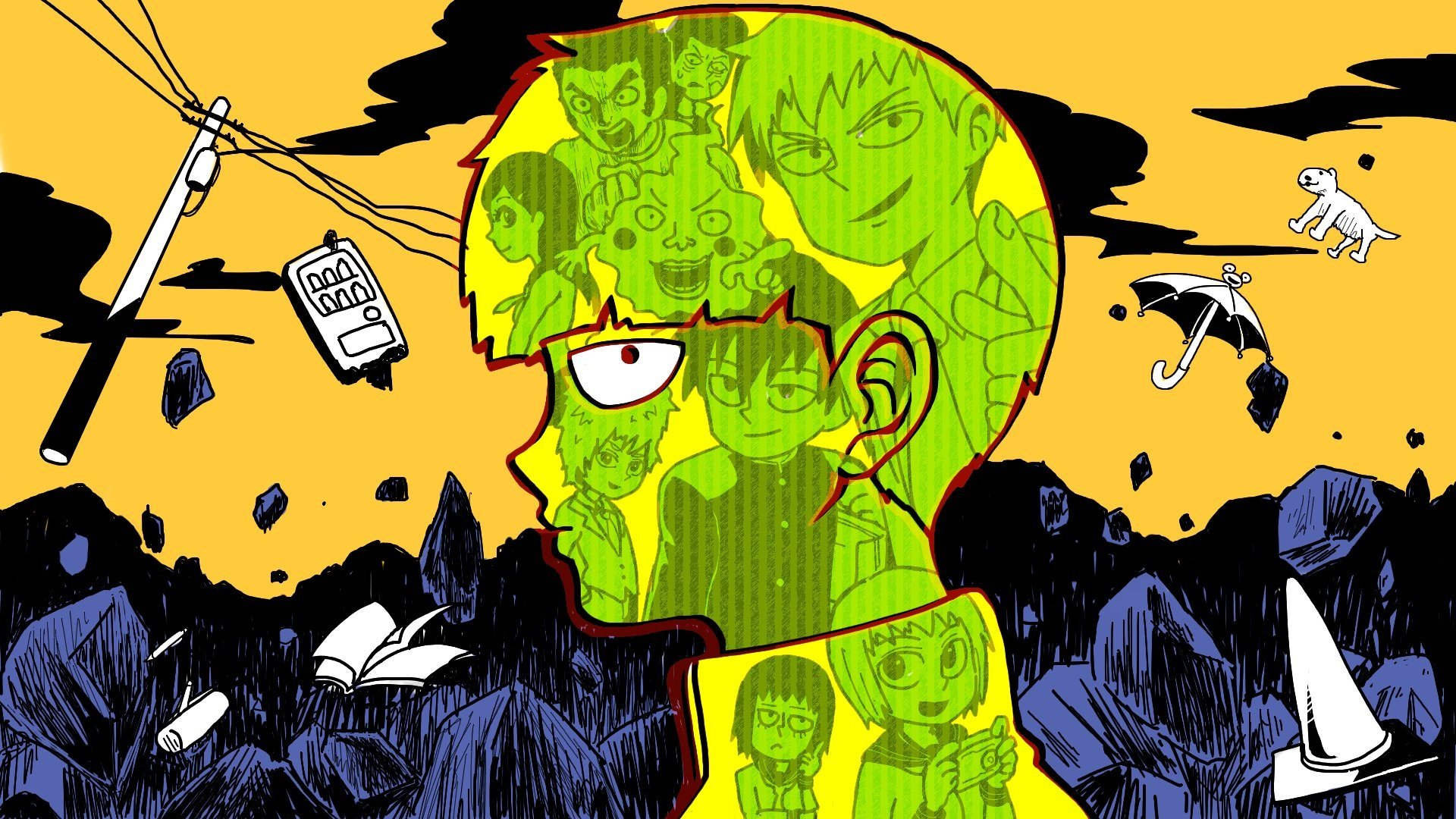 Best Mob Psycho 100 Background Id 329039 For High Resolution Full