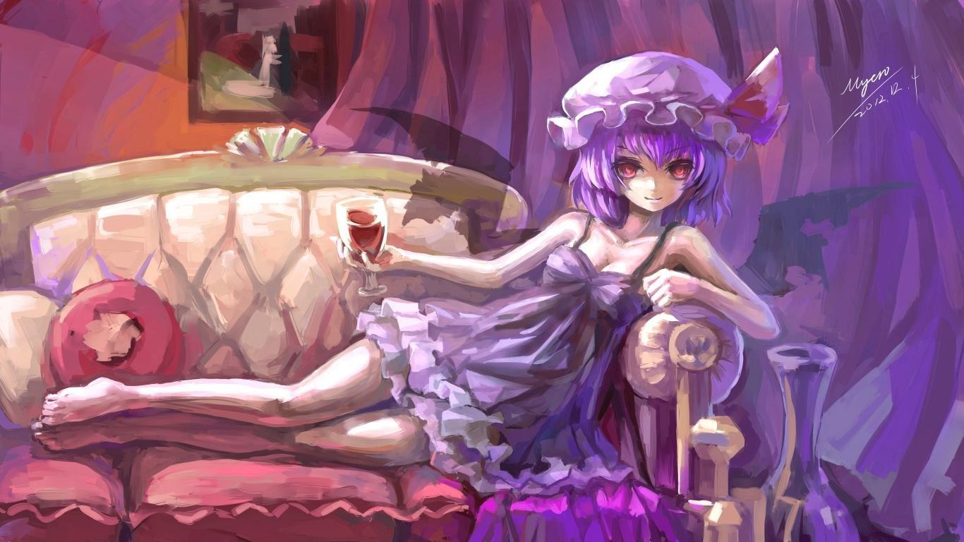 High resolution Remilia Scarlet laptop wallpaper ID:224516 for PC