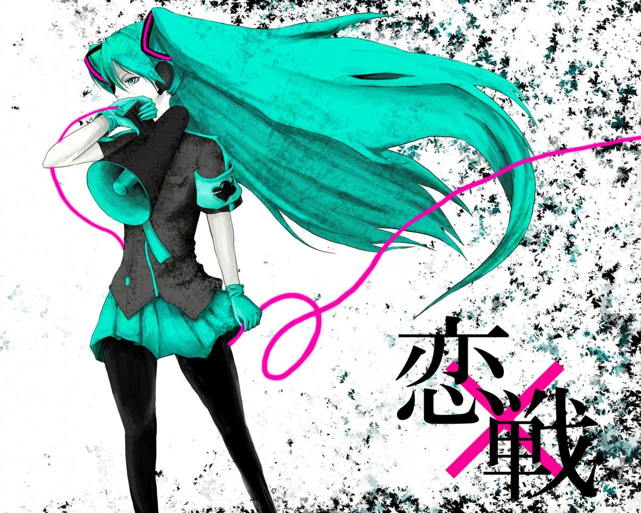 Free download Vocaloid background ID:3434 hd 1280x1024 for PC