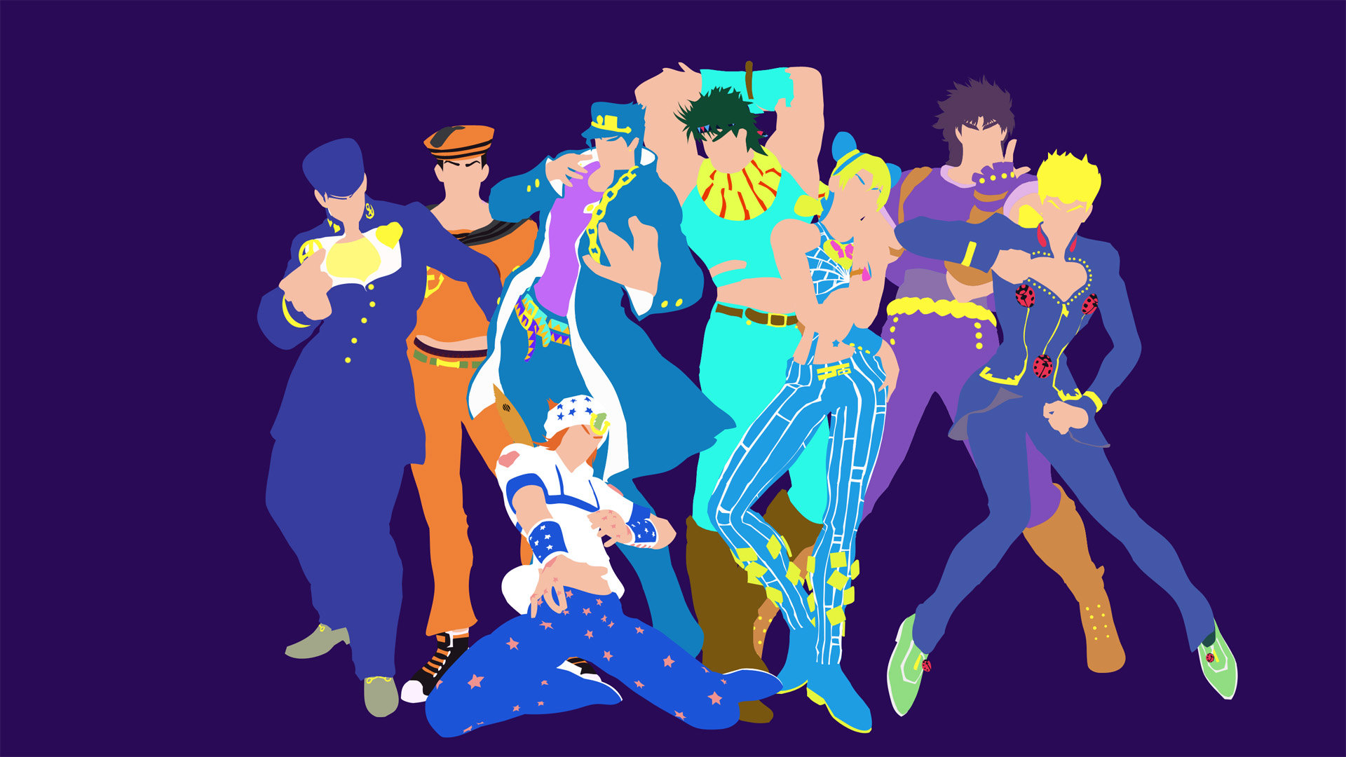 Free download Jojo's Bizarre Adventure background ID:296805 full hd for PC