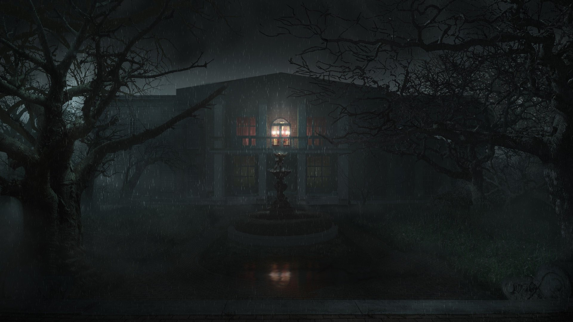 Monster Dark House Wallpapers 1920x1080 Full Hd 1080p