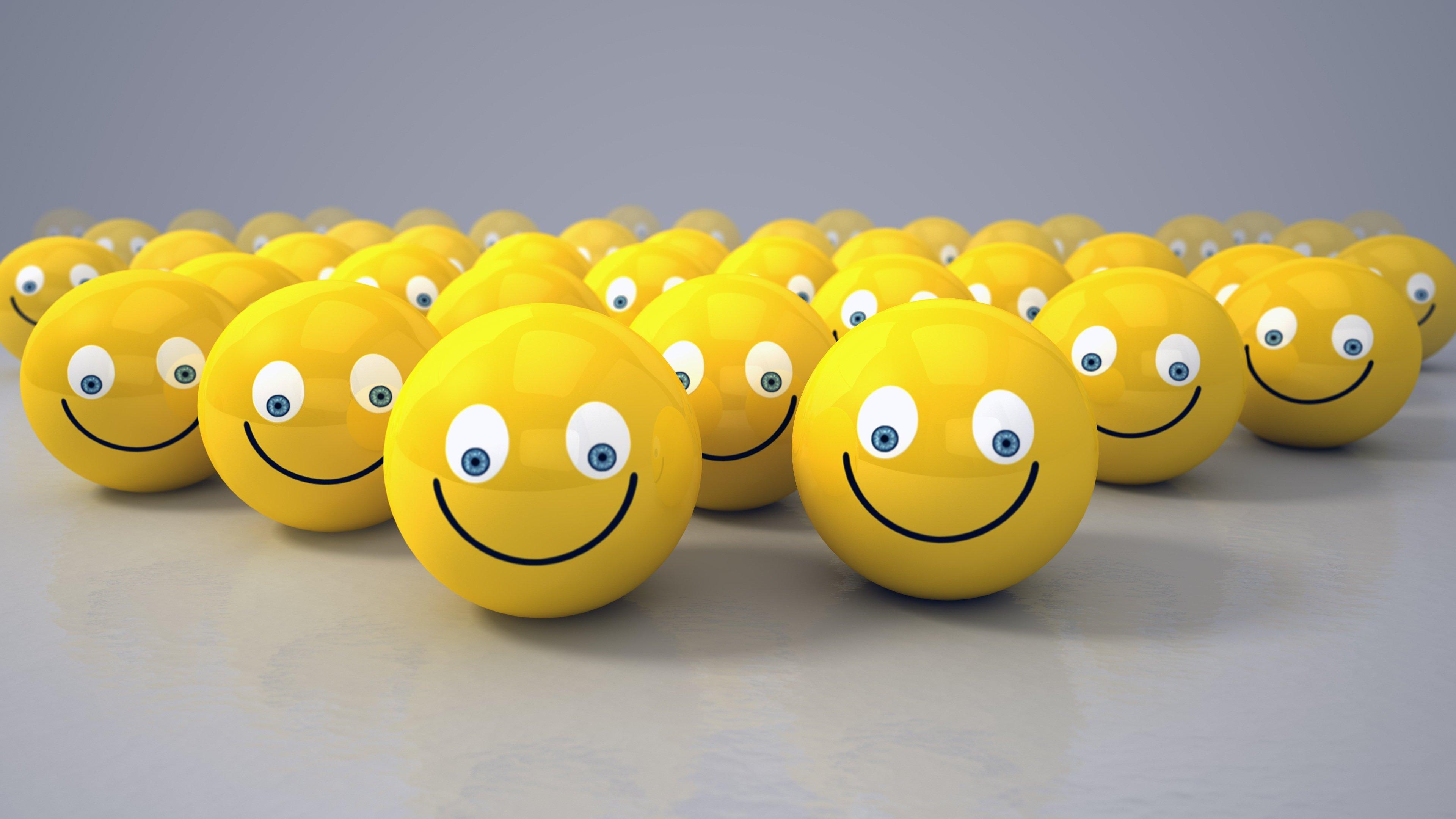 smiley wallpapers 3840x2160 ultra hd 4k desktop backgrounds