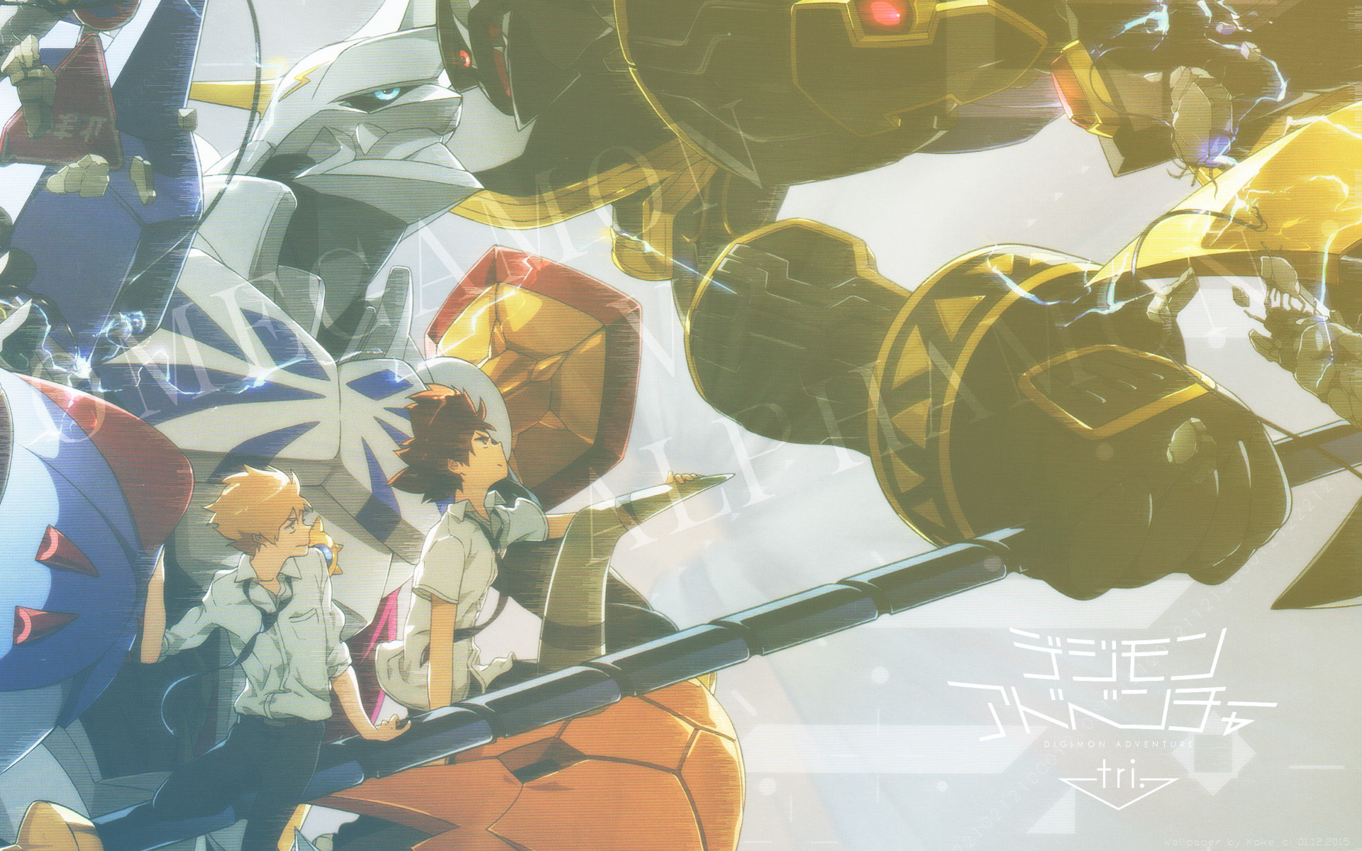 Free Digimon Adventure high quality wallpaper ID:253310 for hd 1920x1200 PC