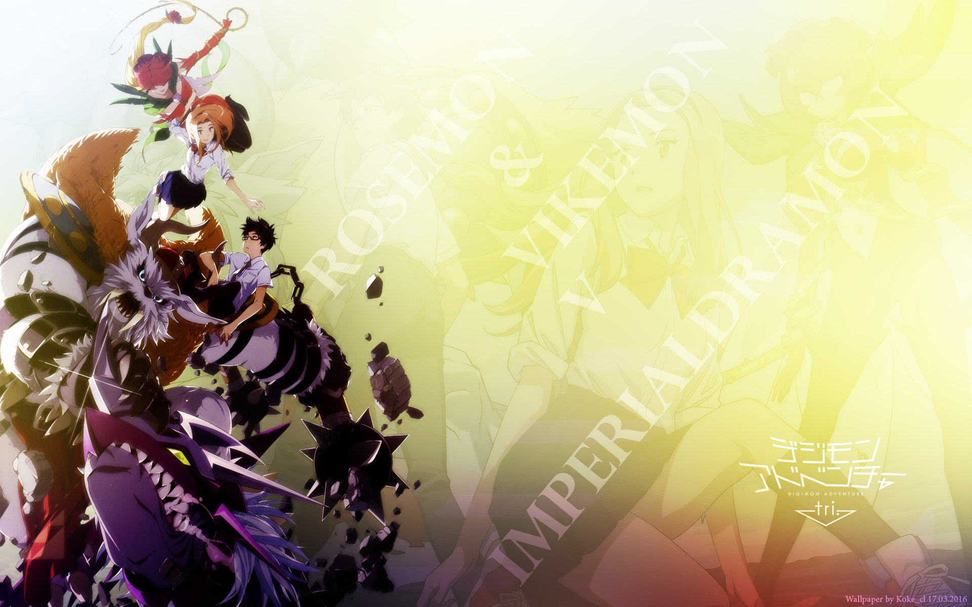 High resolution Digimon Adventure hd 1920x1200 wallpaper ID:253311 for PC
