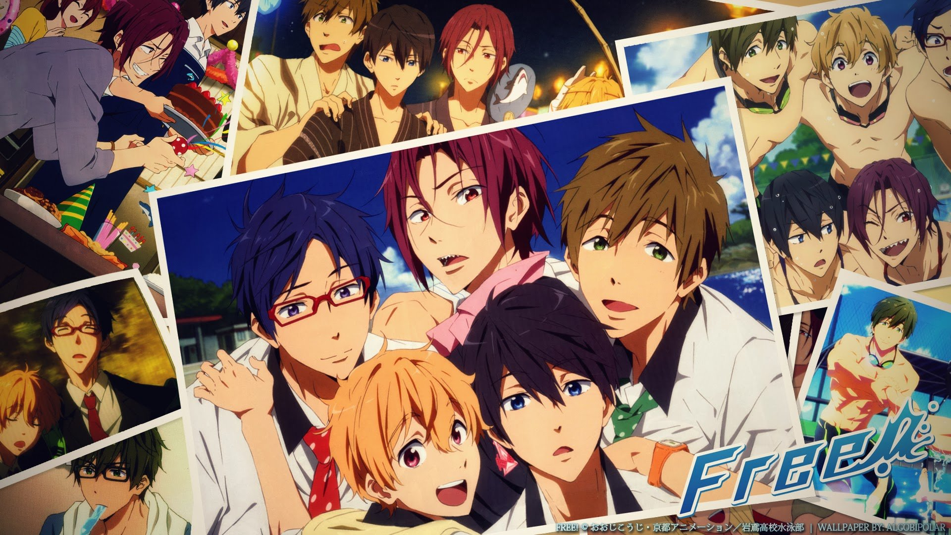 Free Iwatobi Swim Club Wallpapers Hd For Desktop Backgrounds