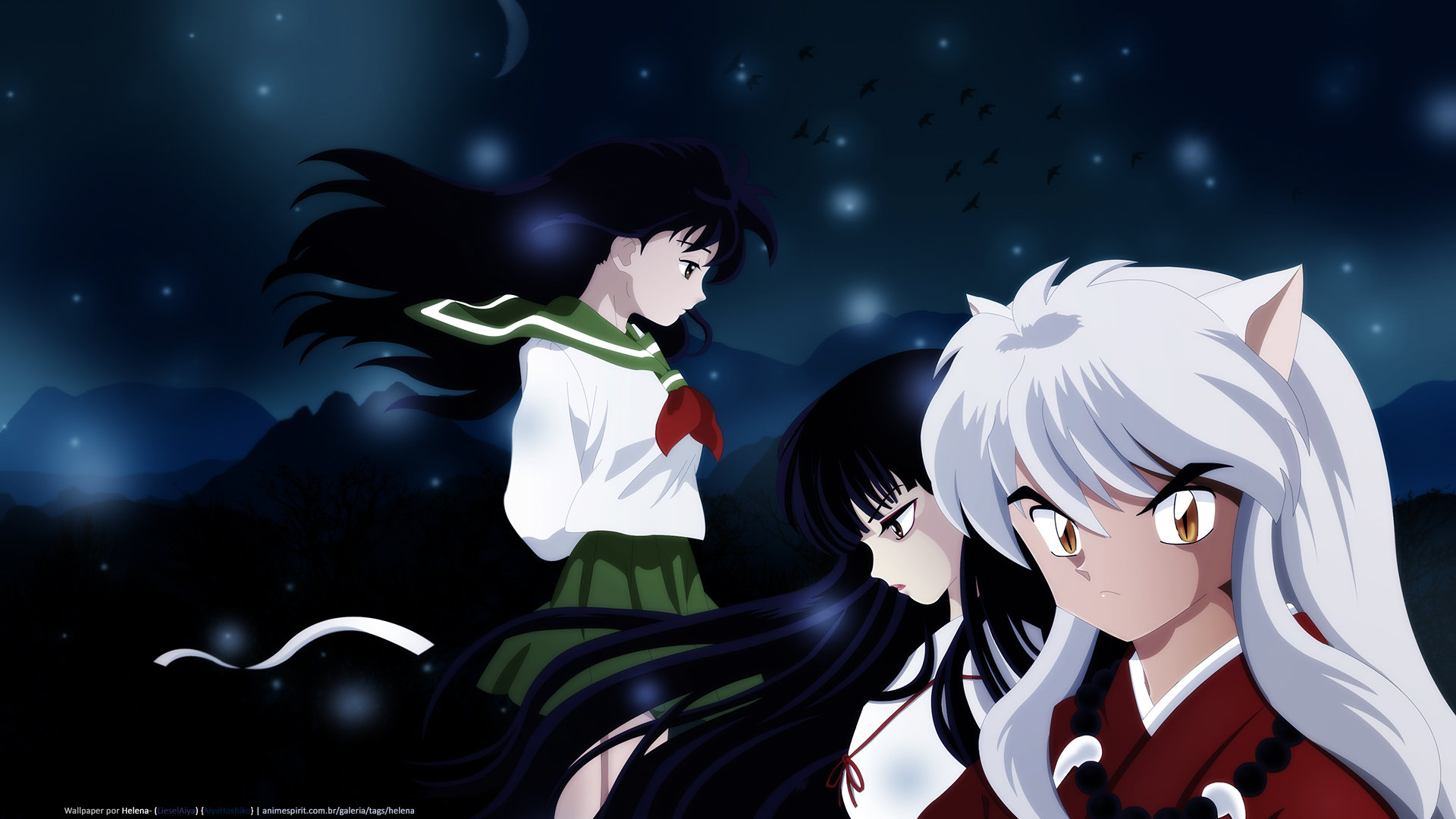 Free download InuYasha background ID:45962 full hd 1920x1080 for computer