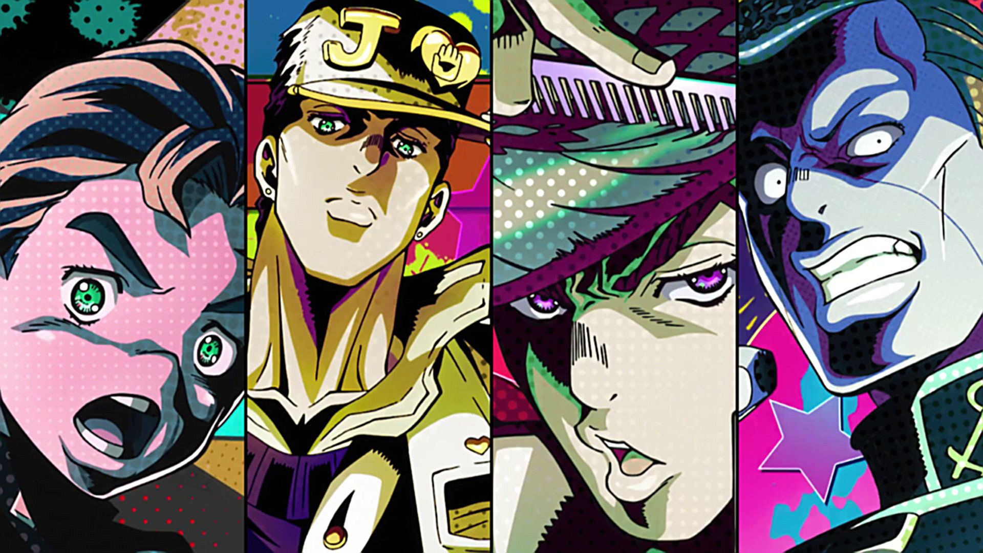 Awesome Jojo's Bizarre Adventure free background ID:296786 for full hd 1080p PC
