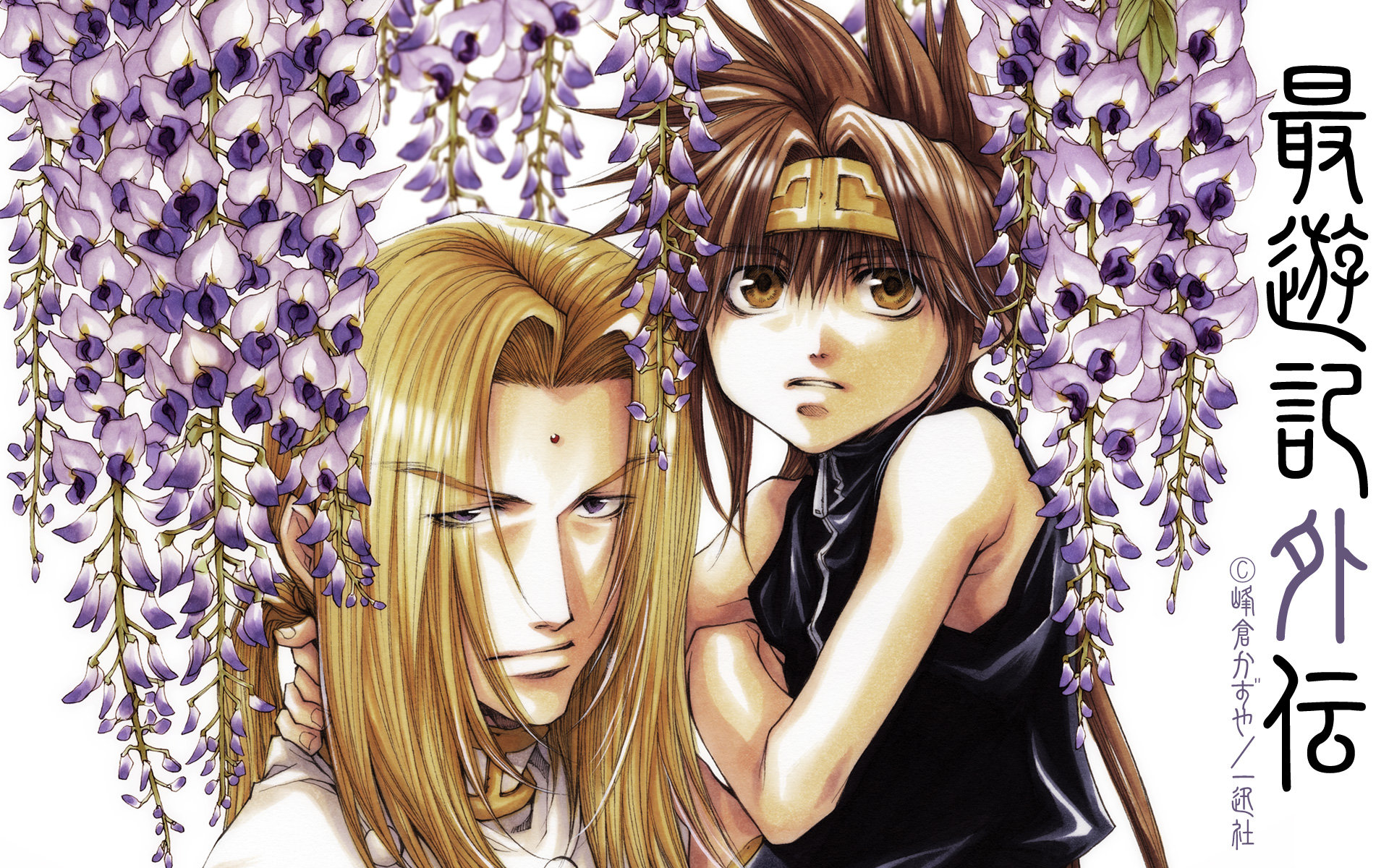 Download hd 1920x1200 Saiyuki computer background ID:235907 for free