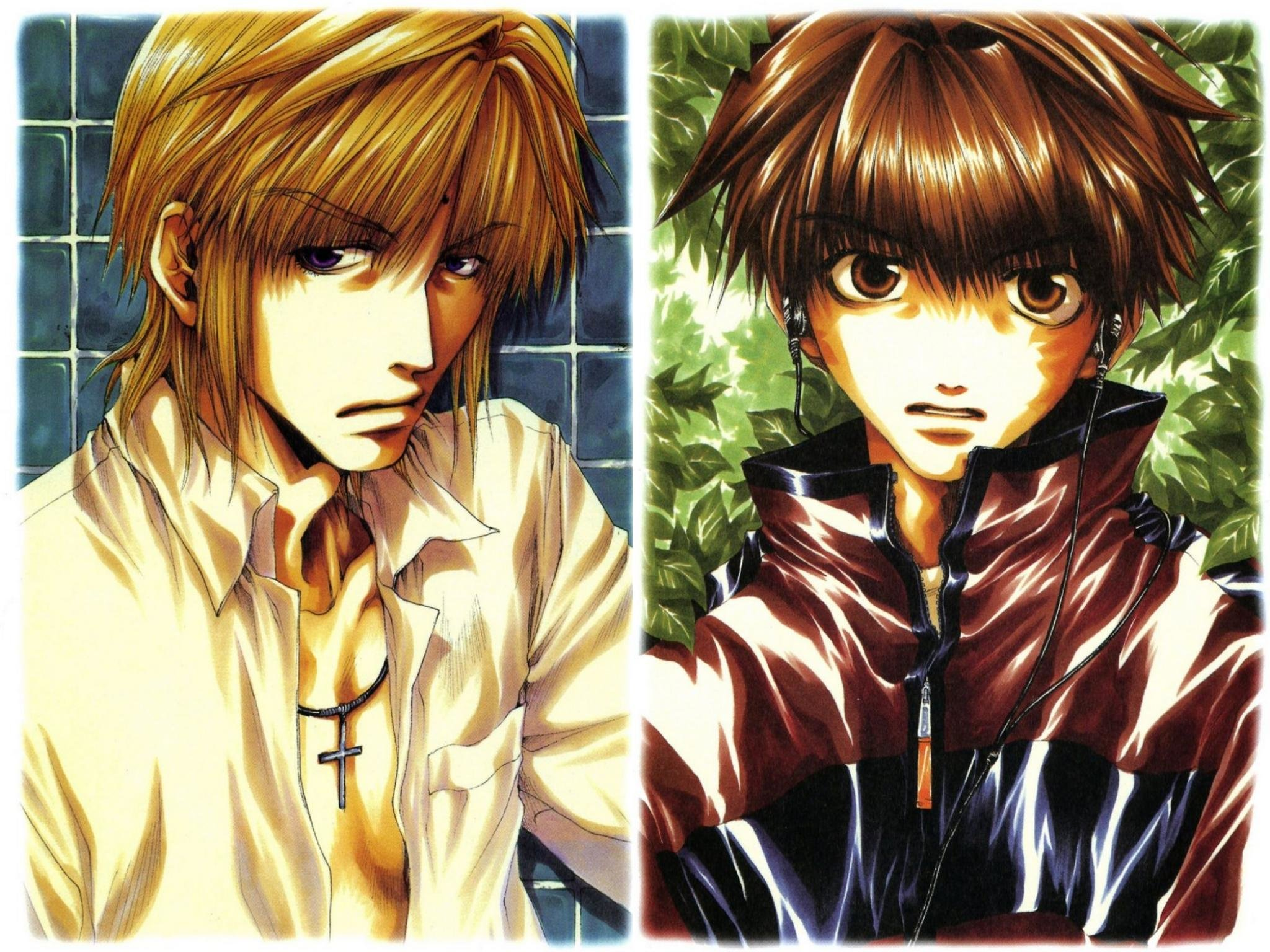 Awesome Saiyuki free background ID:235904 for hd 2048x1536 PC