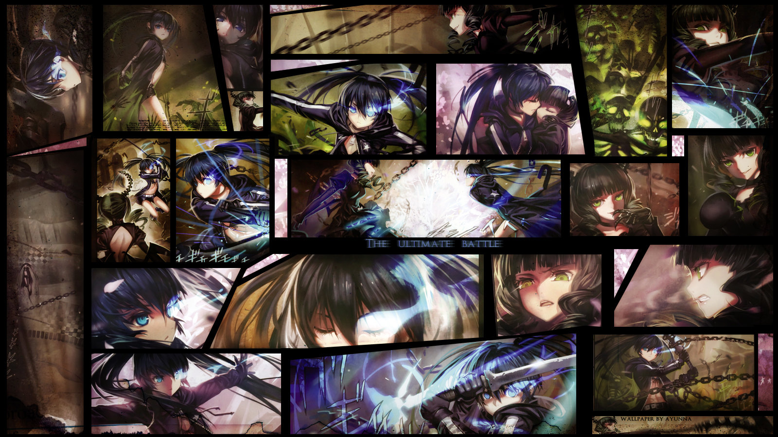 High resolution Dead Master (Black Rock Shooter) hd 1600x900 background ID:454493 for desktop
