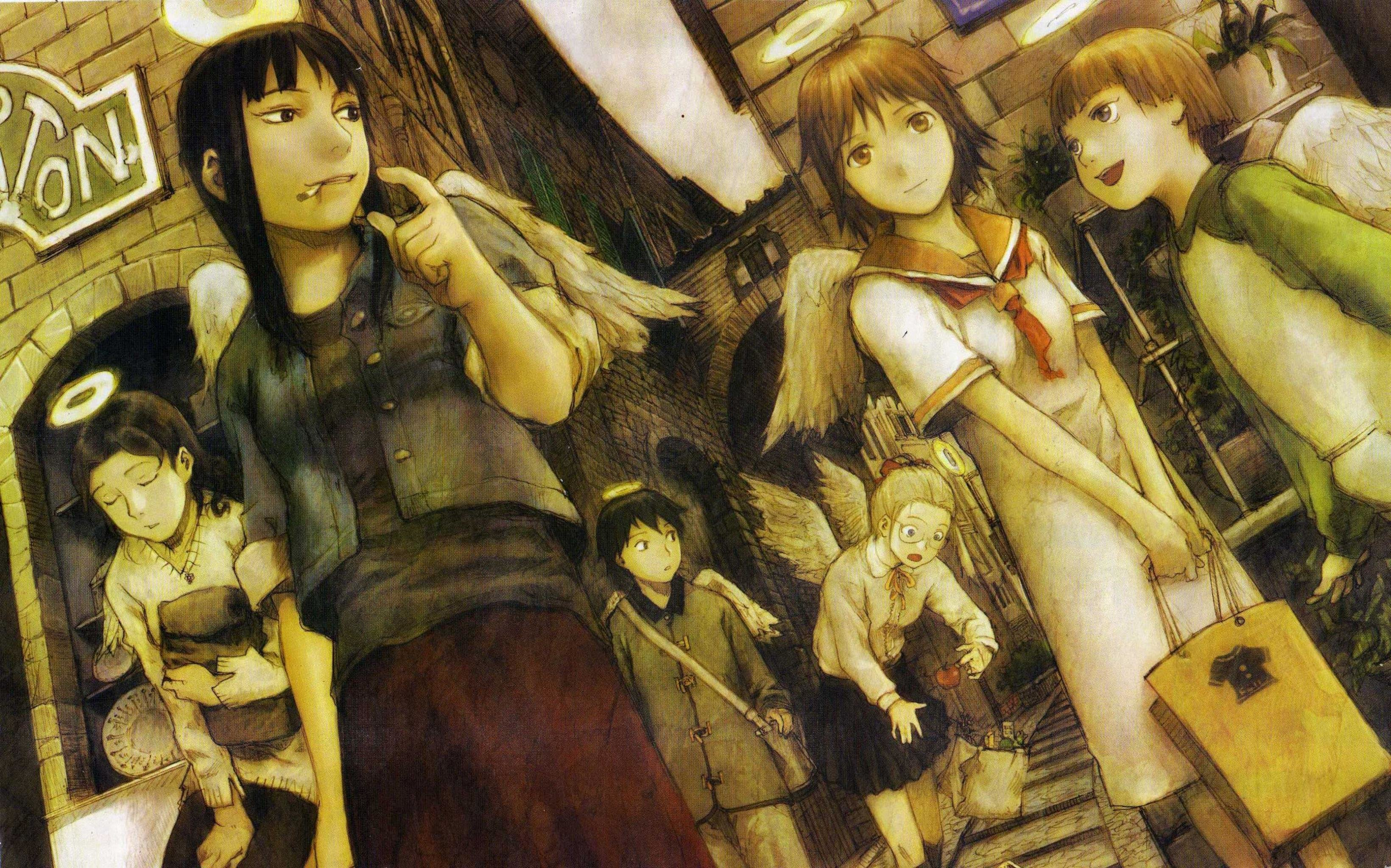 Free download Haibane Renmei background ID:467867 hd 3280x2048 for computer
