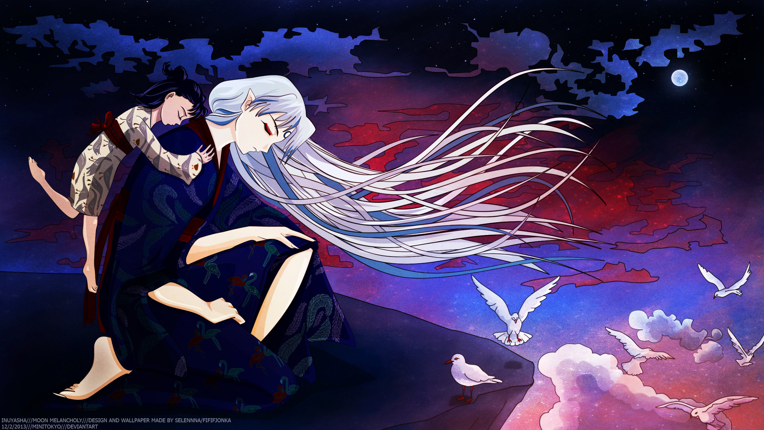 Free InuYasha high quality wallpaper ID:45932 for hd 2560x1440 PC