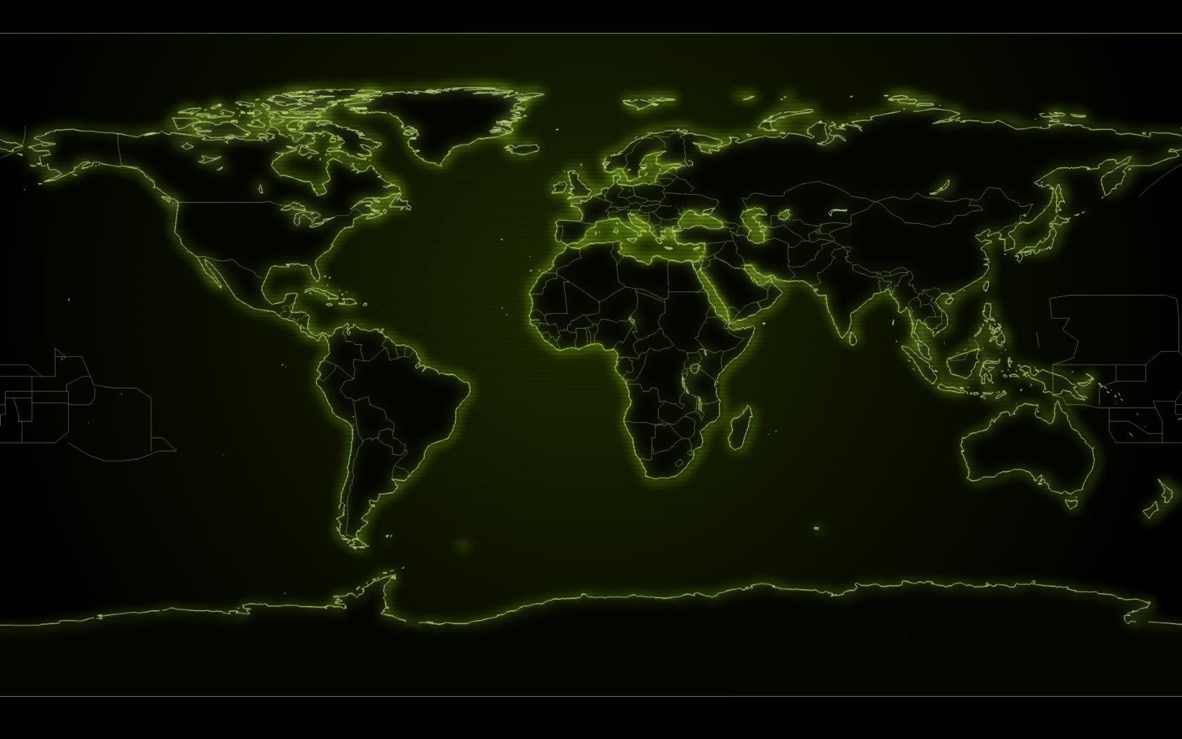 Hd Desktop Backgrounds 1680x1050: World Map Wallpapers 1680x1050 Desktop Backgrounds
