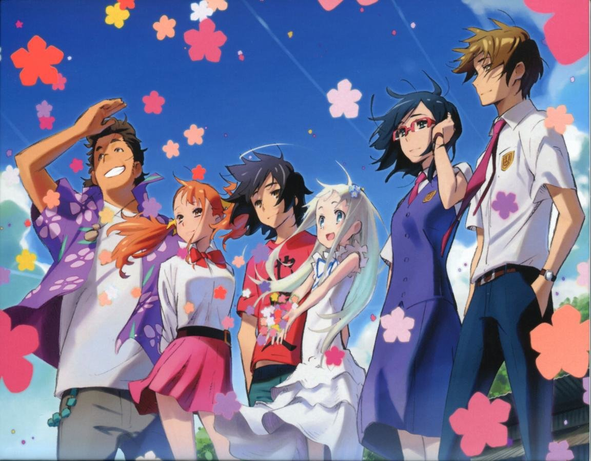 High resolution Anohana hd 1152x900 background ID:382126 for PC