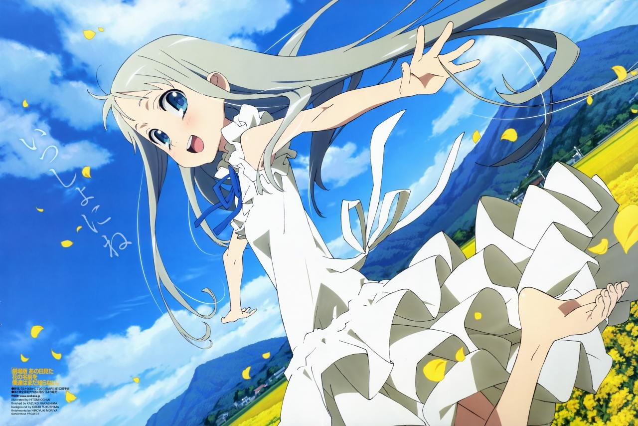 Free download Anohana wallpaper ID:382066 hd 1280x854 for PC