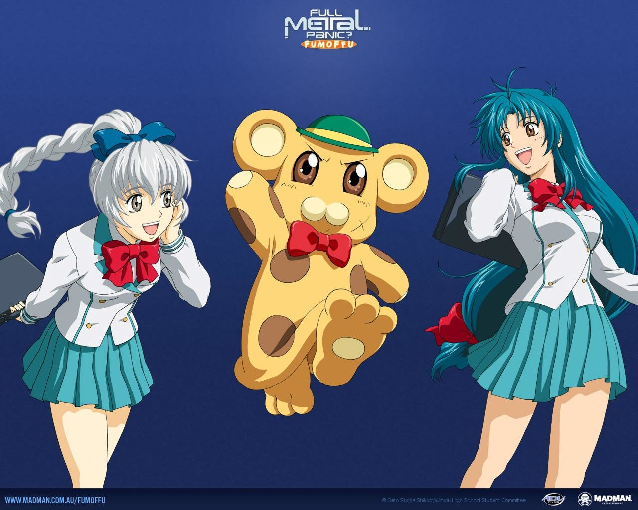 Download hd 1280x1024 Full Metal Panic! desktop wallpaper ID:410923 for free