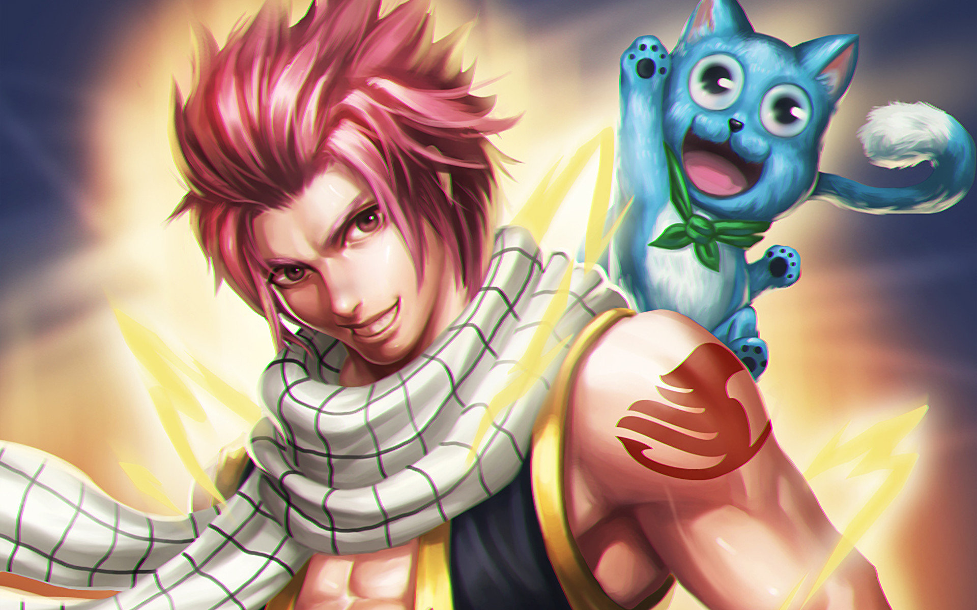 Download hd 1920x1200 Fairy Tail desktop wallpaper ID:41483 for free