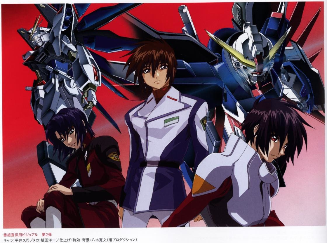 Best Mobile Suit Gundam Seed Destiny background ID:298259 for High Resolution hd 1120x832 desktop