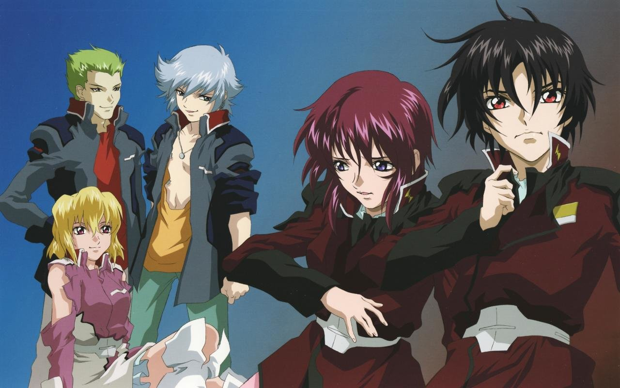 High resolution Mobile Suit Gundam Seed Destiny hd 1280x800 wallpaper ID:298313 for computer