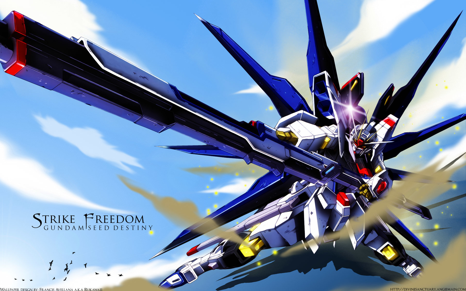 Awesome Mobile Suit Gundam Seed Destiny free wallpaper ID:298220 for hd 1920x1200 computer
