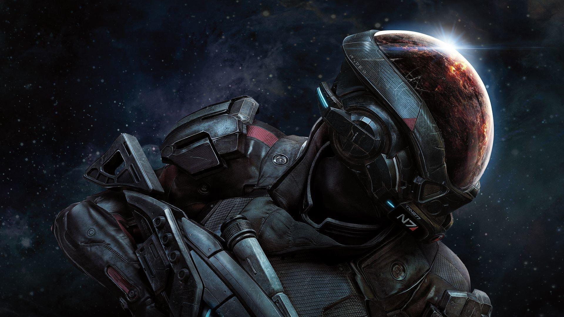 Mass Effect Andromeda Desktop Wallpaper: Mass Effect: Andromeda Wallpapers HD For Desktop Backgrounds