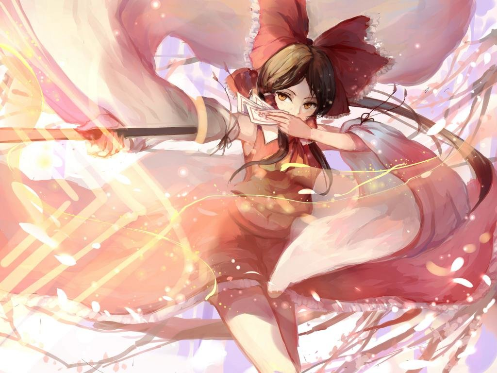 Free download Reimu Hakurei background ID:221500 hd 1024x768 for PC