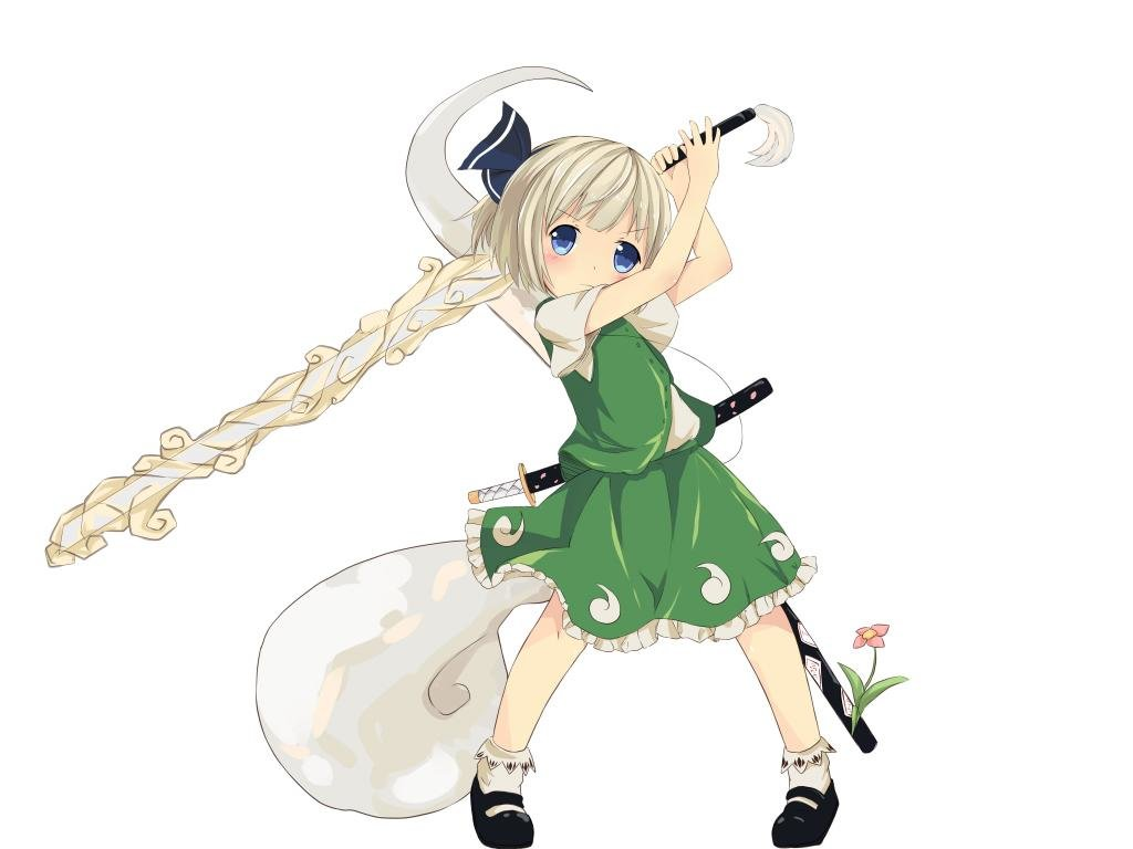 Free Youmu Konpaku high quality background ID:224032 for hd 1024x768 computer