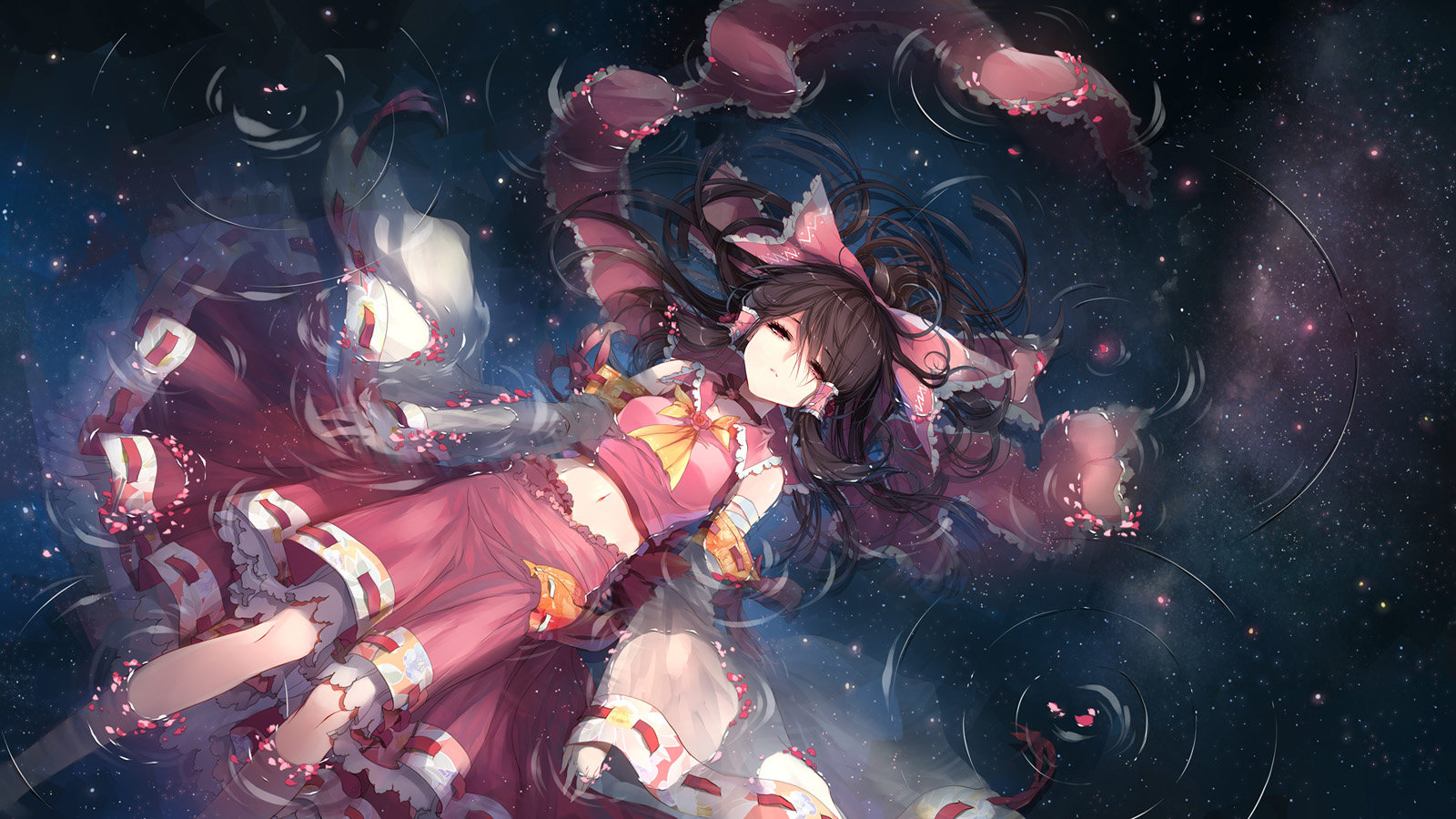 High resolution Reimu Hakurei hd 1600x900 wallpaper ID:221393 for computer
