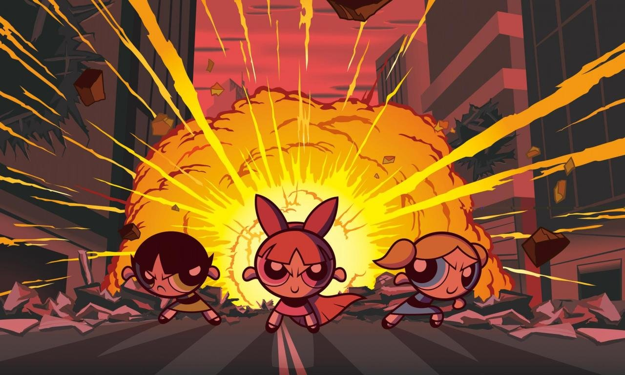 Free download The Powerpuff Girls background ID:260191 hd 1280x768 for desktop