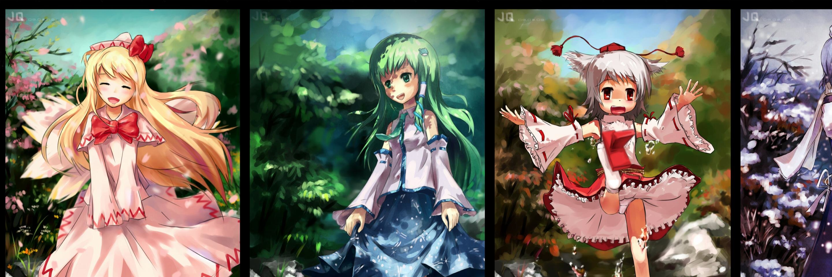 Best Touhou wallpaper ID:223464 for High Resolution dual monitor 2880x960 desktop