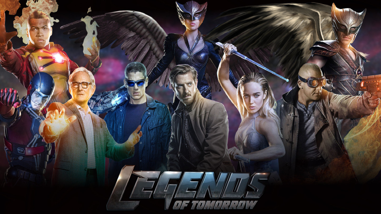 Dc S Legends Of Tomorrow Wallpapers 1600x900 Desktop Backgrounds
