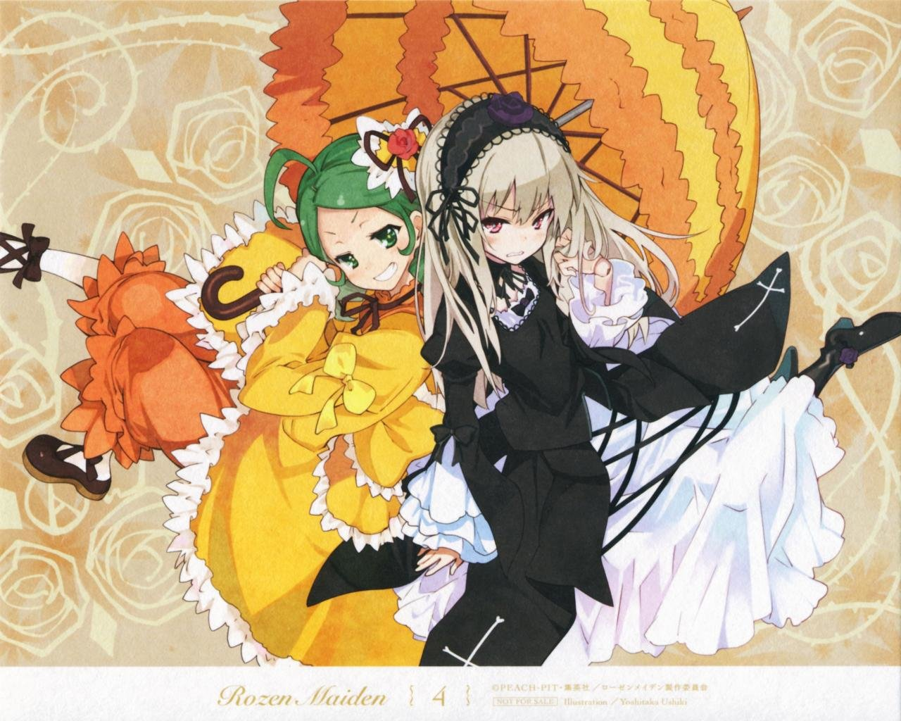 Free download Suigintou (Rozen Maiden) background ID:357344 hd 1280x1024 for computer