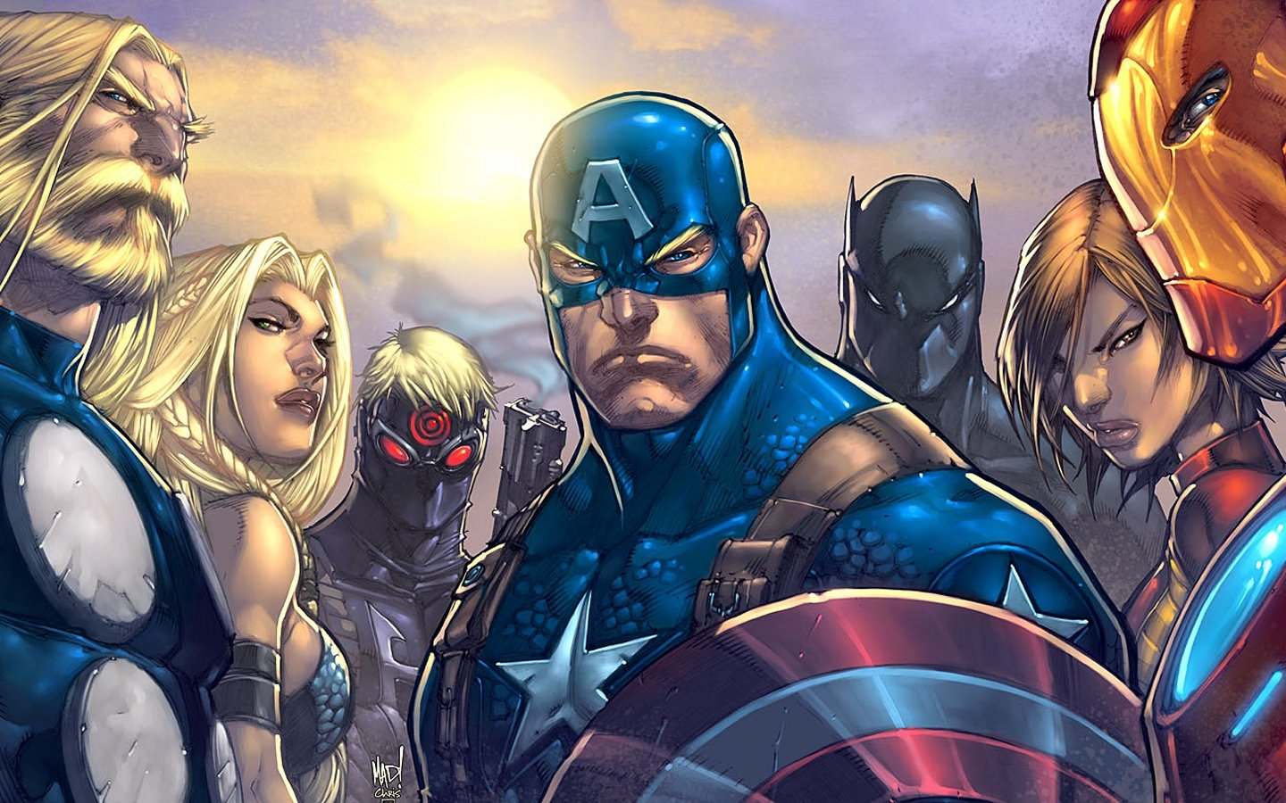 Awesome Avengers comics free wallpaper ID:334411 for hd 1440x900 PC