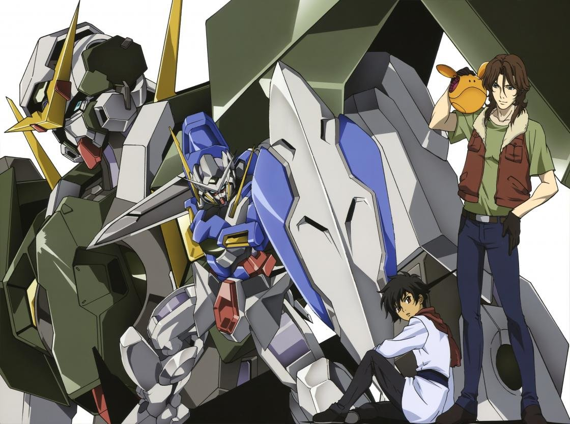 Free Mobile Suit Gundam 00 high quality background ID:83372 for hd 1120x832 desktop