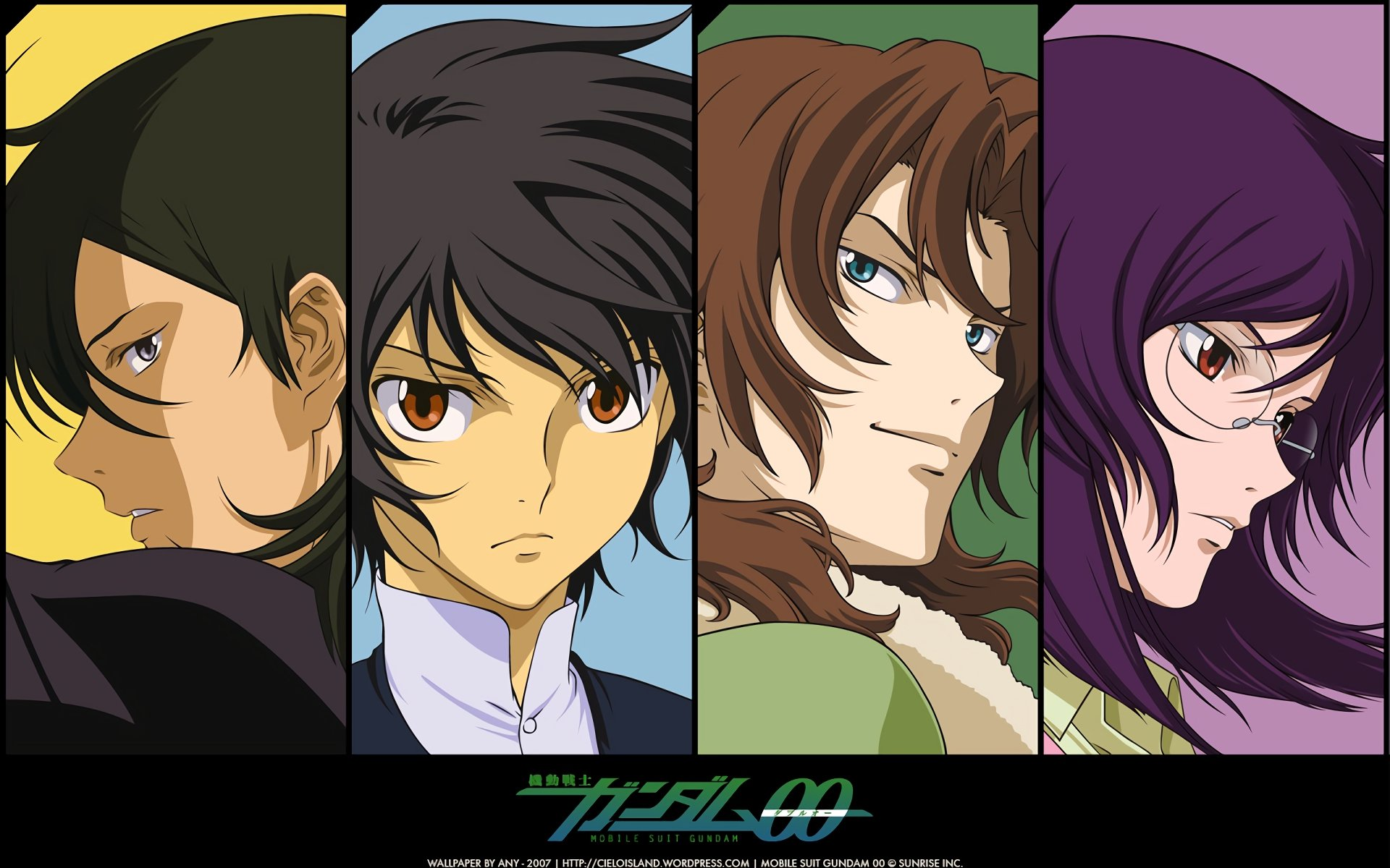 Free download Mobile Suit Gundam 00 background ID:83336 hd 1920x1200 for PC
