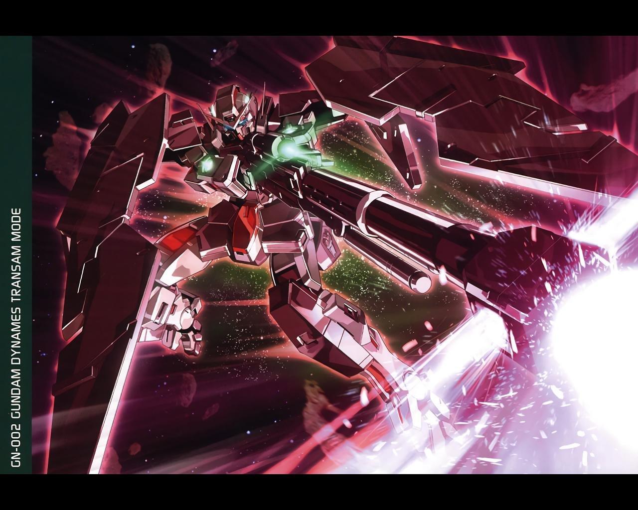 Mobile Suit Gundam 00 Wallpapers 1280x1024 Desktop Backgrounds