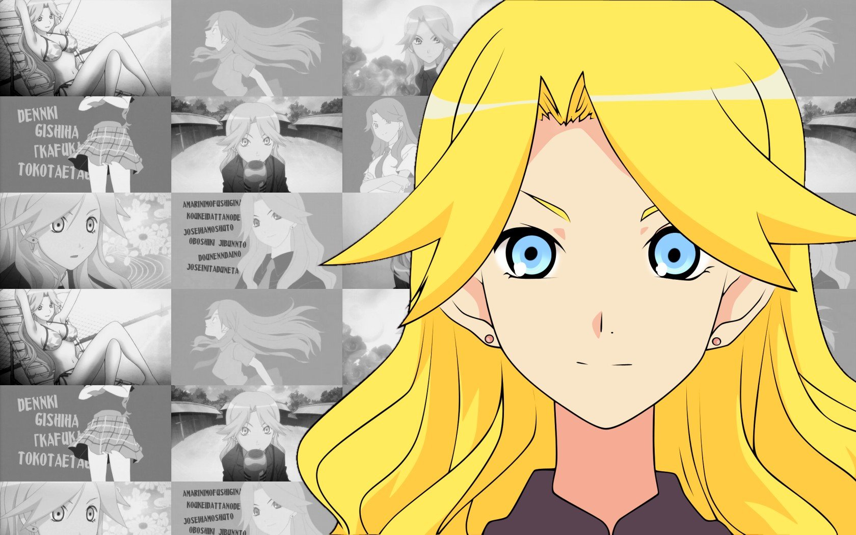 Best Sayonara, Zetsubou-Sensei background ID:243923 for High Resolution hd 1680x1050 computer