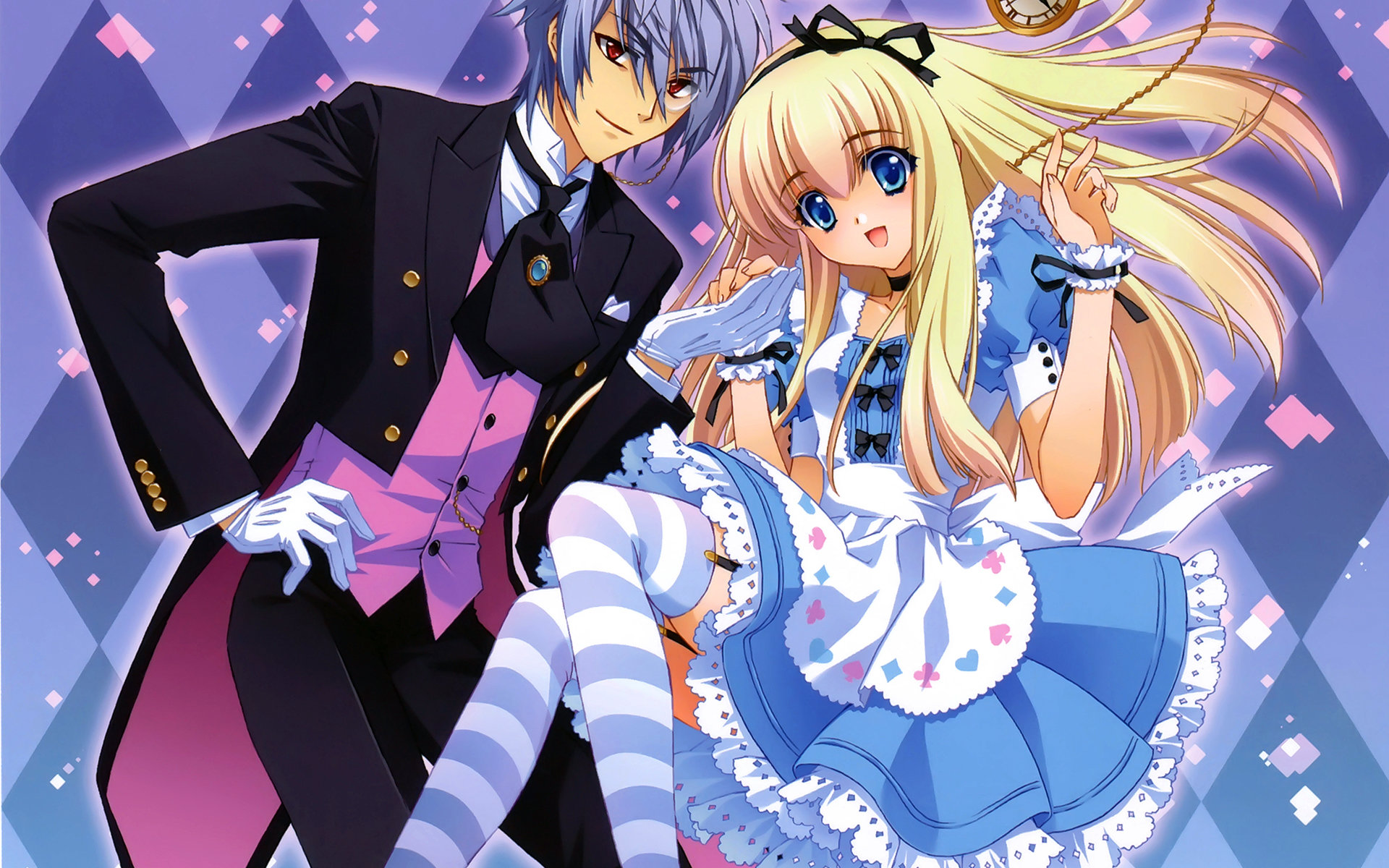 Awesome Alice In Wonderland Anime free background ID:473378 for hd 1920x1200 desktop
