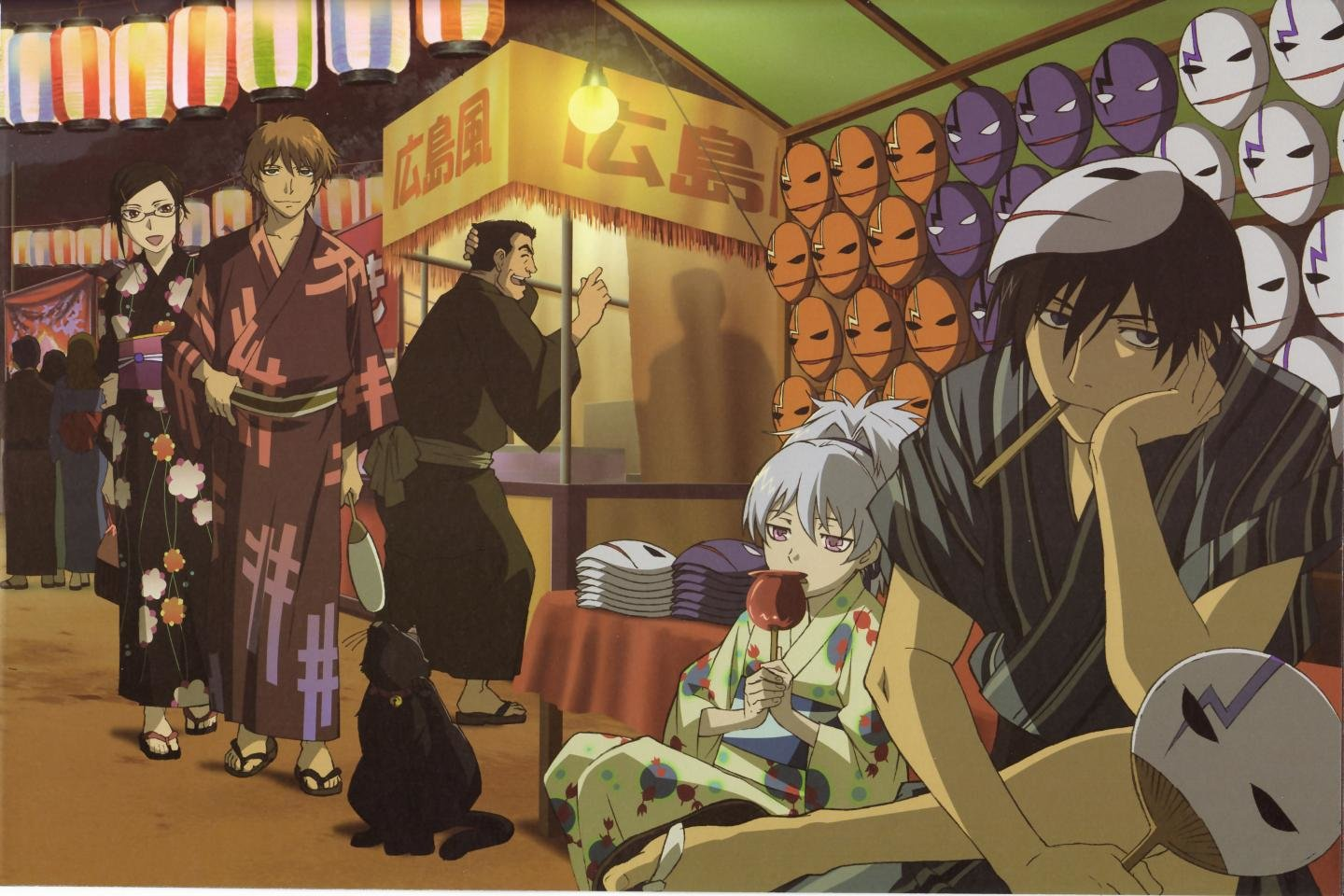 Free download Hei (Darker Than Black) background ID:110194 hd 1440x960 for desktop